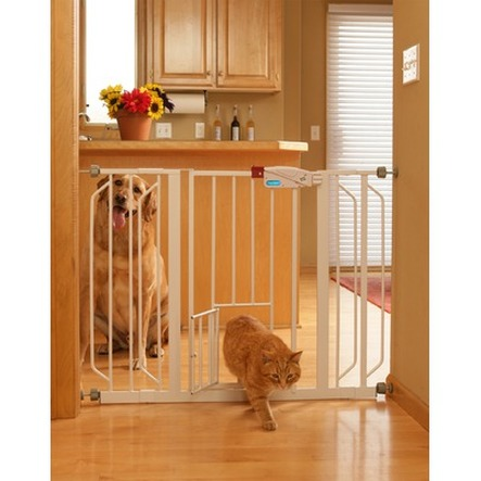 Carlson Extra Tall Gate With Pet Door Home